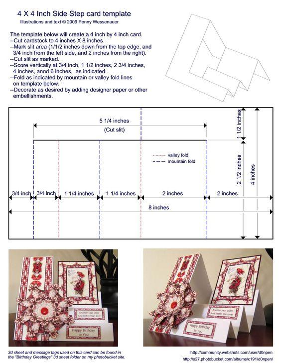 Graduation Card, step by step instructions GRADUACIÓN - guest card template