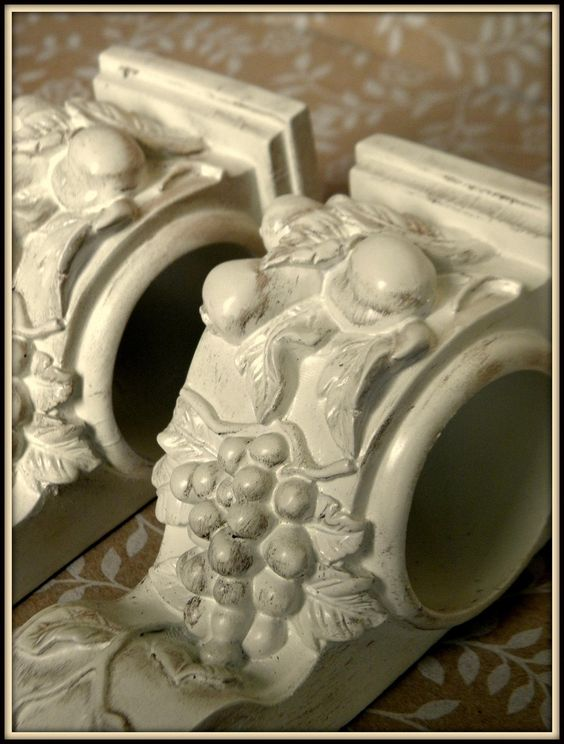 Set of 2 shabby french cottage chic drapery wall sconce for I need to use the bathroom in french