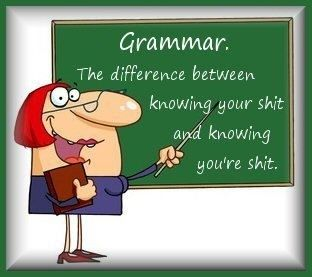 Grammar...