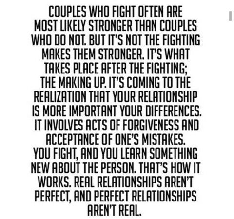 No Such Thing As Perfect Relationship Motivasi Kutipan Cinta Kutipan