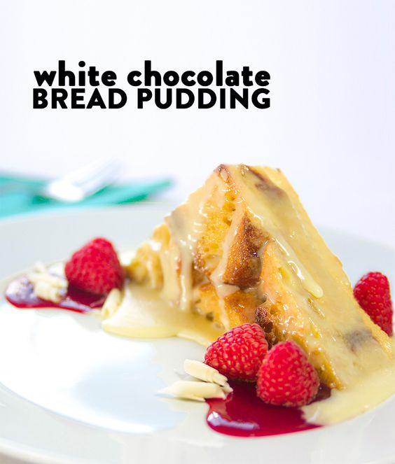 Nordstrom White Chocolate Raspberry Bread Pudding Recipe