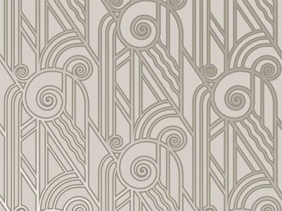 Fabric art deco wallpaper art deco pinterest ann es - Deco digital plus ...