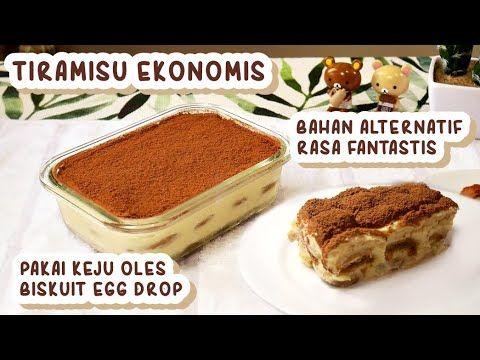 Resep Tiramisu Versi Ekonomis Walau Tidak Ada Mascarpone Dan Ladyfinger Youtube Tiramisu Oreo Recipes Tiramisu Dessert