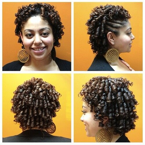 Miraculous Flexi Rods Roller Set And Rollers On Pinterest Short Hairstyles Gunalazisus