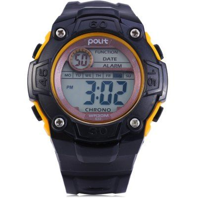 $5.08 (Buy here: http://appdeal.ru/br8n ) Polit 632 LED Sports Watch for just $5.08