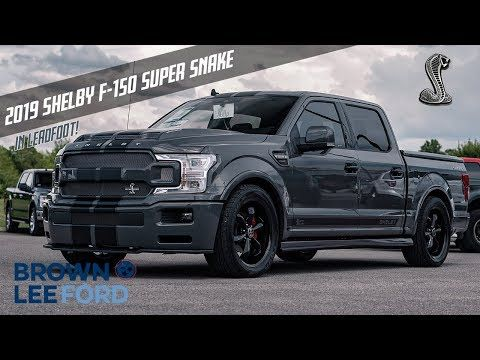 First Look 2019 Shelby Super Snake F 150 755 Horsepower Lead Foot For Sale 22 Black Wheels Youtube In 2020 Super Snake Black Wheels Shelby Truck