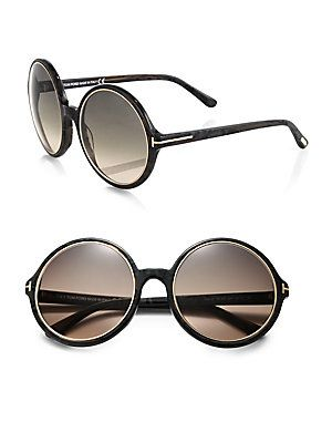 Tom Ford Eyewear Carrie Round Sunglasses
