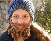 List Crochet Hats with detachable beards