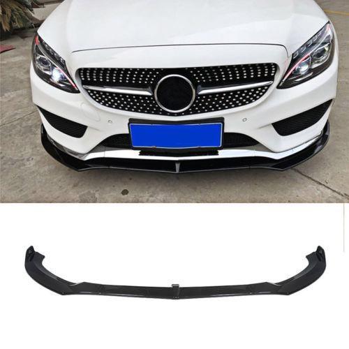 Ninte Front Bumper Lip For Benz C Class W205 Sport 2015 2018 Chin Lip Splitter Benz C Benz C Class