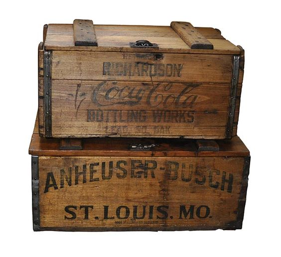 Bottle antiques and shipping crates on pinterest for Where can i find old wine crates