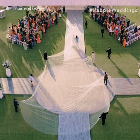 Priyanka Chopra And Nick Jonas Her Veil Priyanka Chopra
