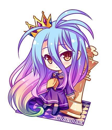 Shiro | No Game No Life (I don't know if I should put this on my Chibi board) x_x