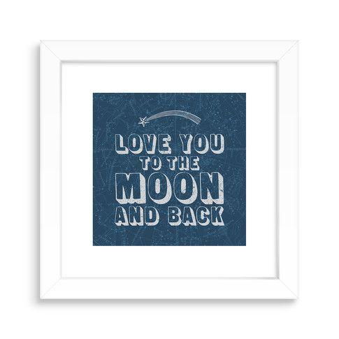 Art Prints, Love is in the Stars Design