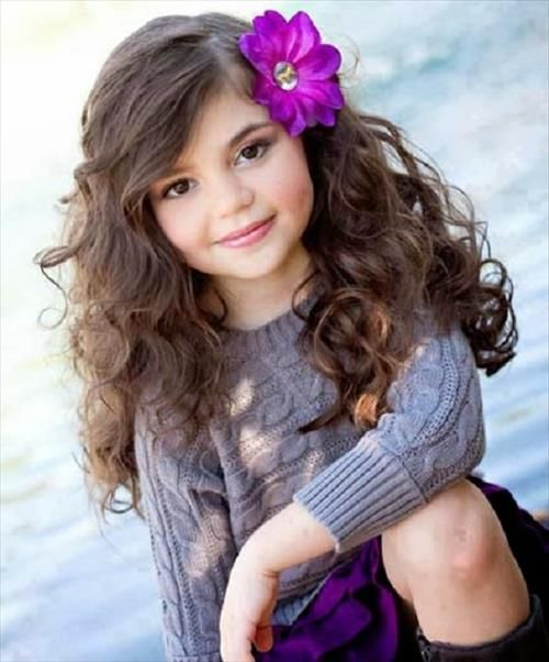 Fabulous Kid Long Hairstyles And Hairstyles On Pinterest Short Hairstyles For Black Women Fulllsitofus