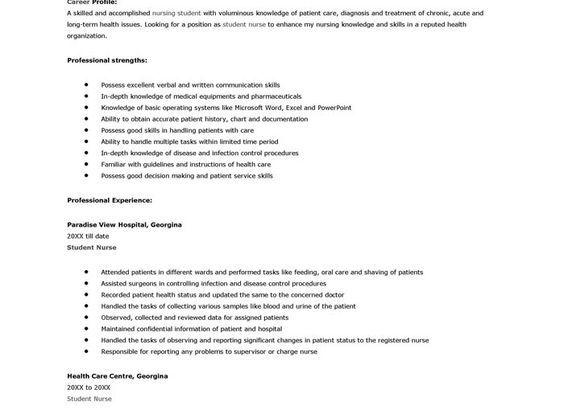 CASE STUDY REPORT FORMAT GUIDELINE Following is a suggested - infection control nurse sample resume