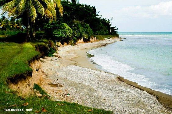The beauty of Haiti where the only color we see is body by the beach.