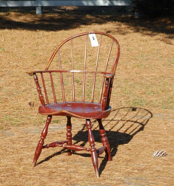 Windsor Sack Back Chair Antique Chairs Pinterest