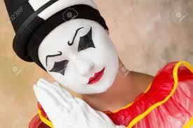Image result for mime make up