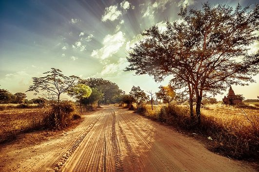 Twilight Over Countryside In Myanmar For More Information Www Tourism Gov Mm Tourism Amazing Architecture Countryside