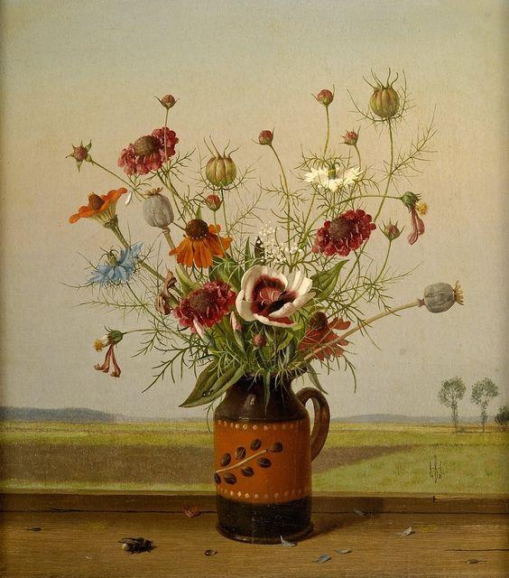 Herbert Böttger (1898-1954)   Field Bouquet,1942 (880×1000)