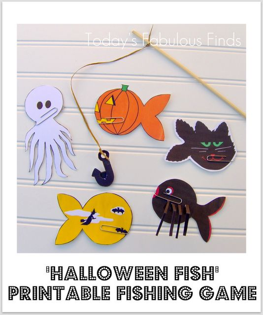 Halloween ideas halloween and ponds on pinterest for Fish pond game