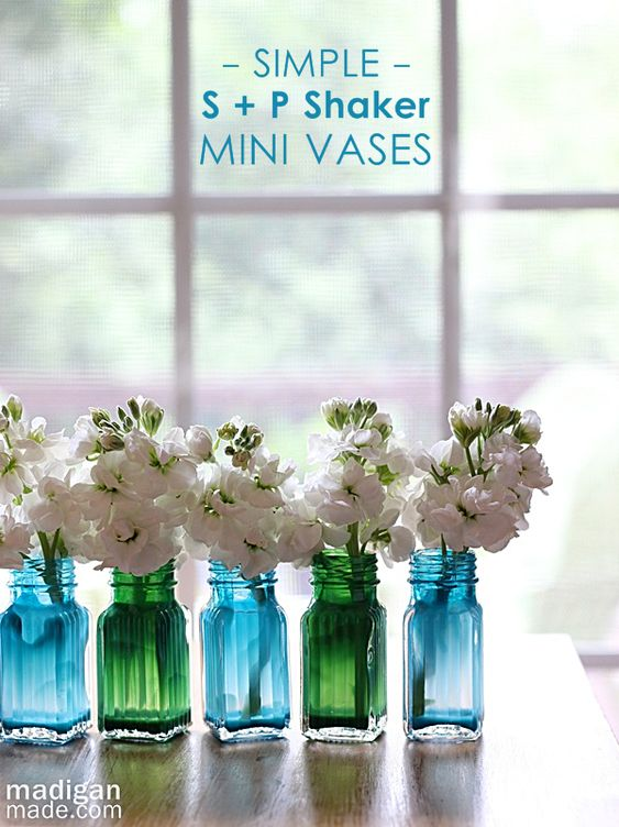Dollar Tree Salts And Vases On Pinterest