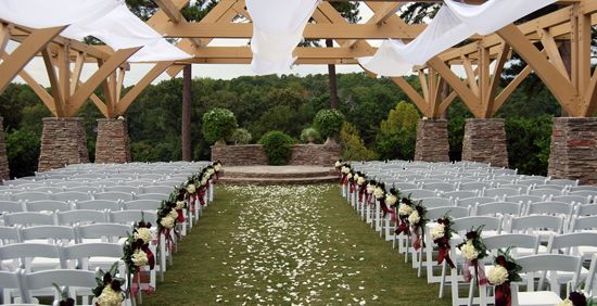 Wedding Ceremony Packages: Pavilion Wedding Decorations