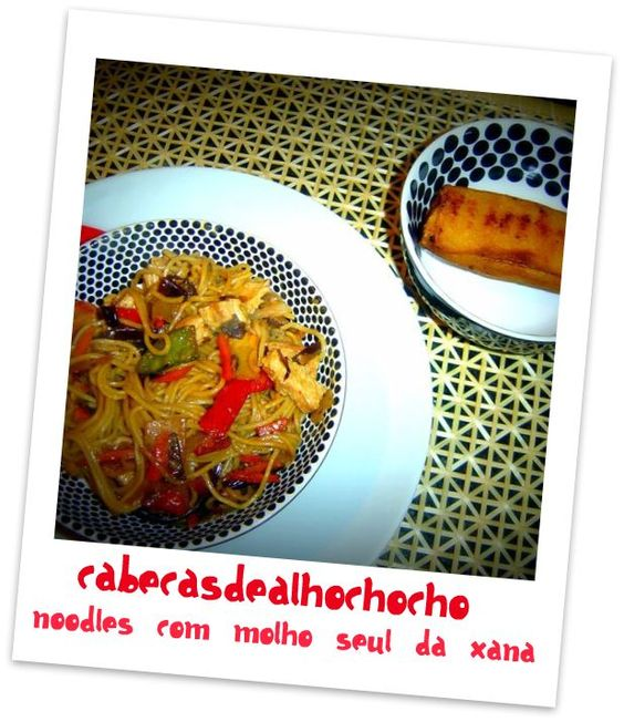 Noodles com Molho Seul