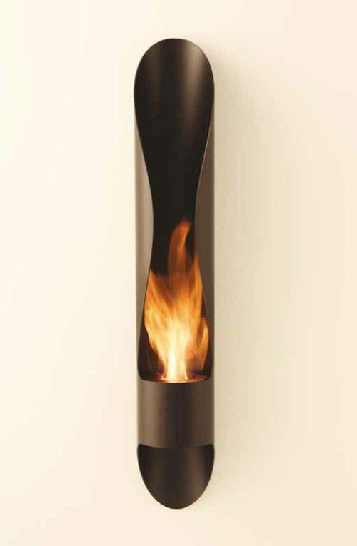 La chimenea de bioetanol tubo por Acquaefuoco Wellness Mood