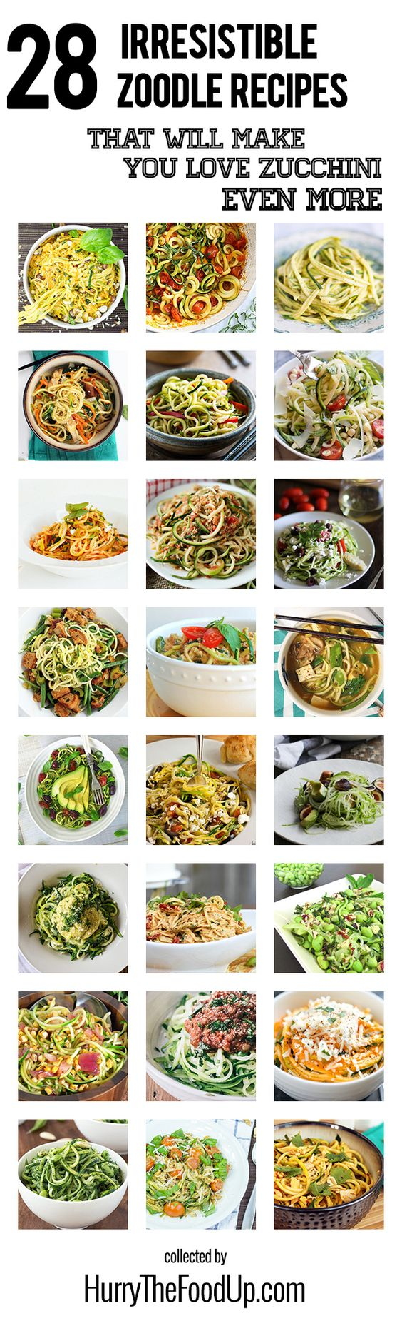 28 Irresistible and Quick Zoodle (Zucchini Pasta) Recipes ...