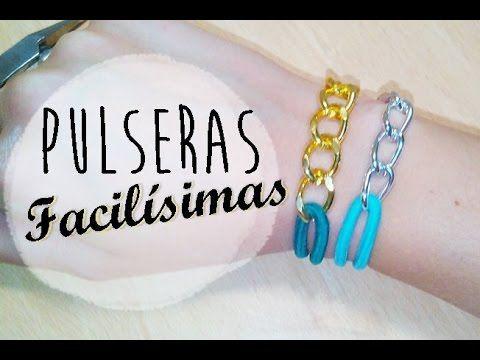 DIY: Pulseras con gomas de pelo   Bracelet Design