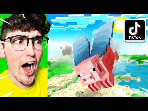 25 Viral Tiktok Minecraft Hacks That Work Youtube Minecraft Tips Minecraft Creations Minecraft