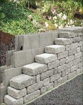 Schalsteine Von Hornbach Steinmauer Garten Schalsteine Gartenmauer