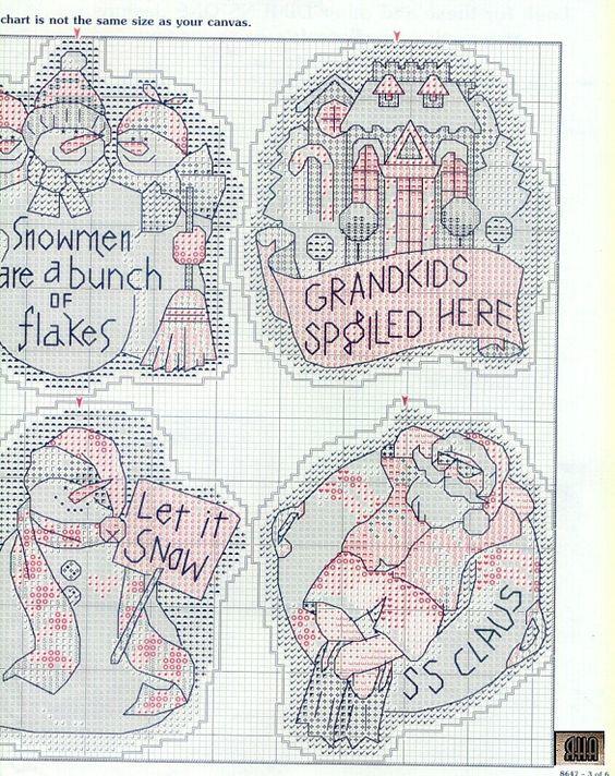 Gallery.ru / Photo # 3 - 11 - IannaD | Christmas cross stitch ...