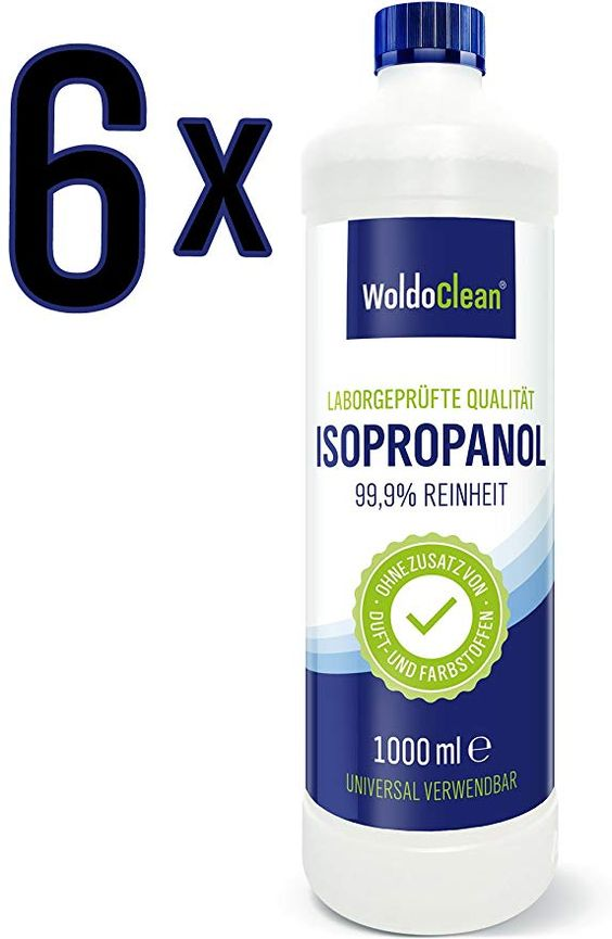 Woldoclean Isopropanol 99 9 Ipa 2 Propanol 4 Liter