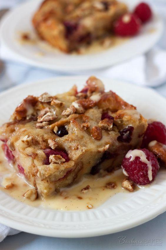 Raspberry Bread Pudding   Recipe   Pinterest   Dried ...