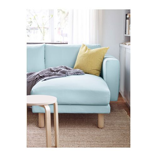 Ikea chaise longue and birches on pinterest - Canape 5 places ikea ...