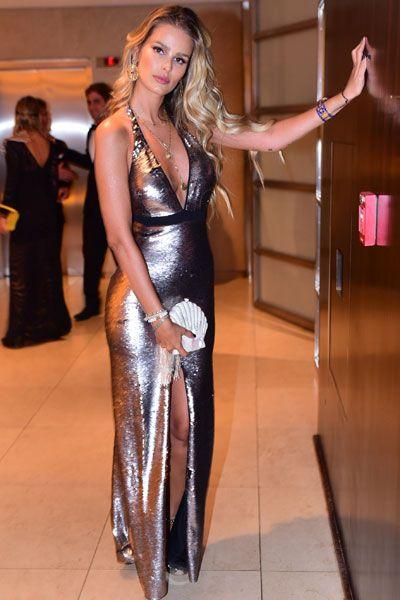 Yasmin Brunet em festa em São Paulo: