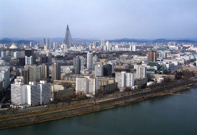 Fotos de Pyongyang - Coréia do Norte - Cidades em fotos