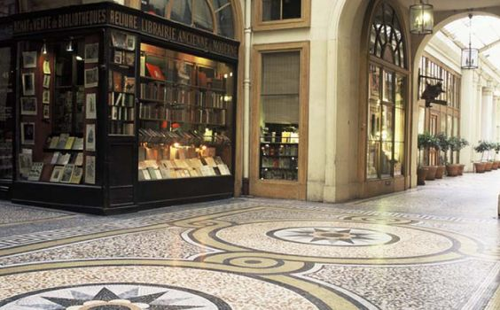 Nearby, at 13 Rue Vivienne.. between the Palais-Royal and the Bourse, period locations that have inspired many a filmmaker