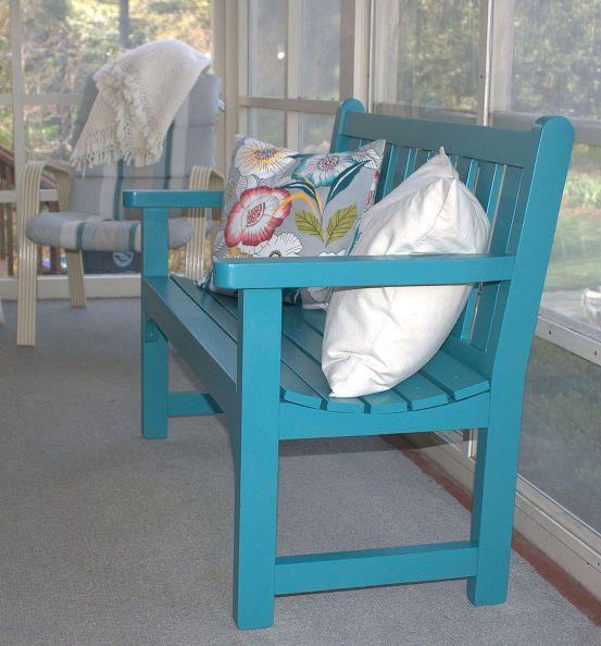 garden bench makeover | giardini, mobili e mobili dipinti - Mobili Da Giardino Idee Dipinte