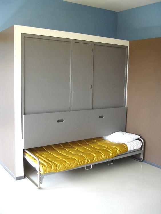 Hideaway Bed In Le Corbusier House Kids 39 Rooms Bunk