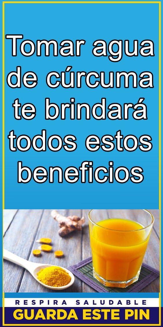 Tomar Agua De Cúrcuma Te Brindará Todos Estos Beneficios Curcuma Beneficios Remedios Para La Salud Cuidado De La Salud