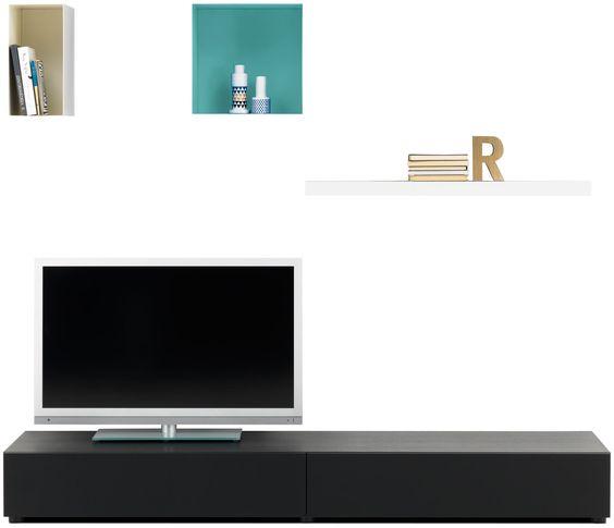 Design Fernsehtische & moderne Hifi-Module: TV Hifi Möbel ...