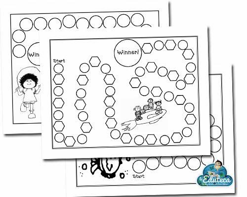 Recursos Primaria 10 Plantillas En Pdf Para Crear Juegos De Mesa Educativos La Eduteca Frame Blog Homeschool