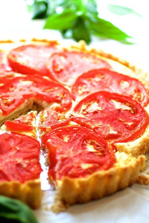 tomato ricotta savory tomato and more basil pesto pesto tomatoes tarts ...