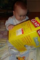 The Stay-at-Home-Mom Survival Guide: Infant Activities - This also has lots of great ideas for older kids too!