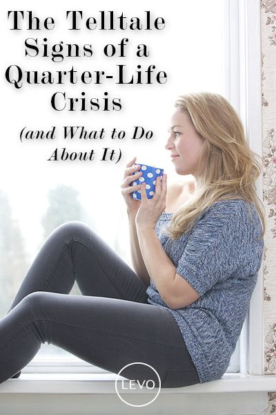 Know this—Your quarter-life crisis is happening to give you an opportunity for transformation.