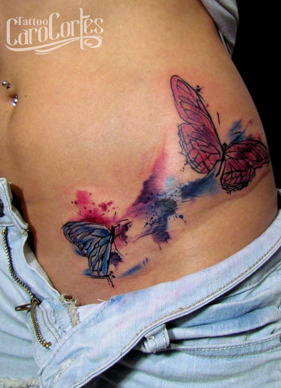 Tattoo artist butterfly watercolor watercolor tattoos rock and tattoos