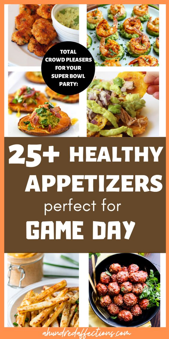 25+ Healthy Game Day Appetizers (Clean | Paleo | Whole30)